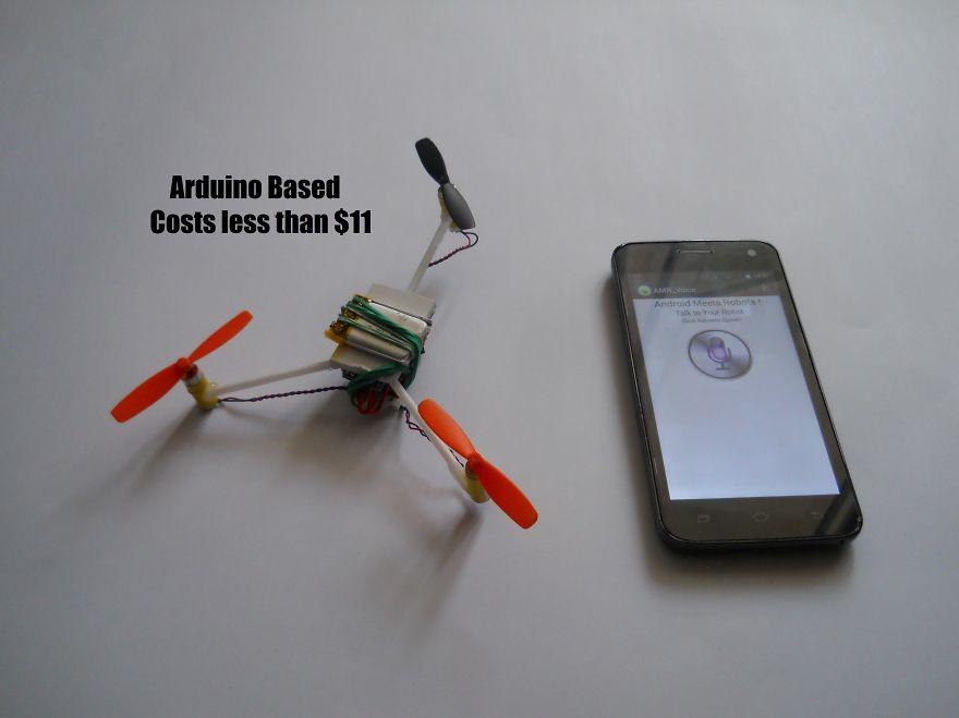 Diy voice controlled arduino drone bored panda