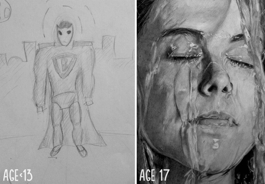 1 drawing progress over the last few years