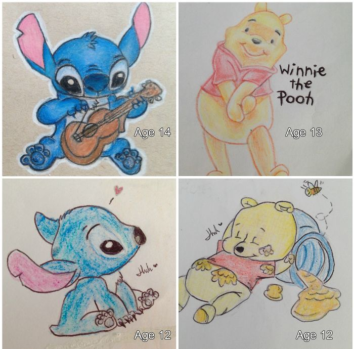 Drawings From Age 12 To 15