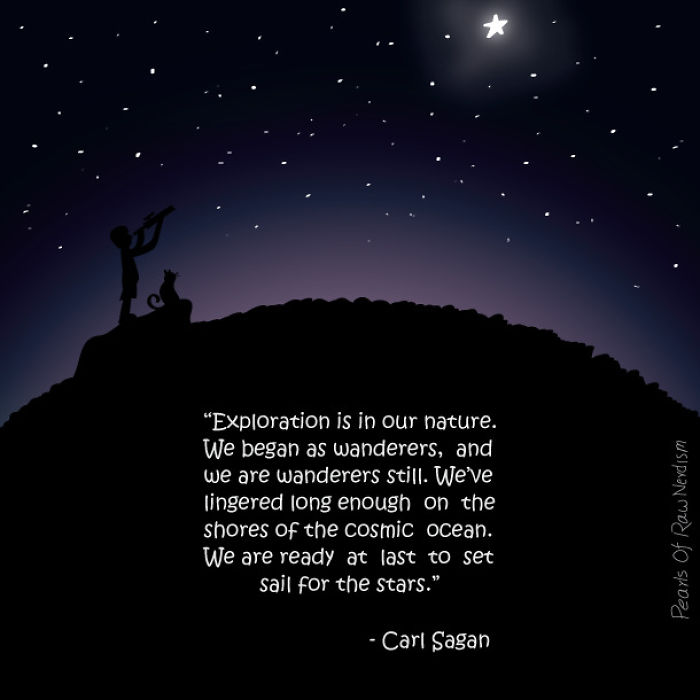 Exploration Is In Our Nature