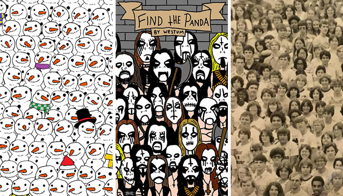 "Let's Post All ""Find The Panda"" Puzzles Here!"