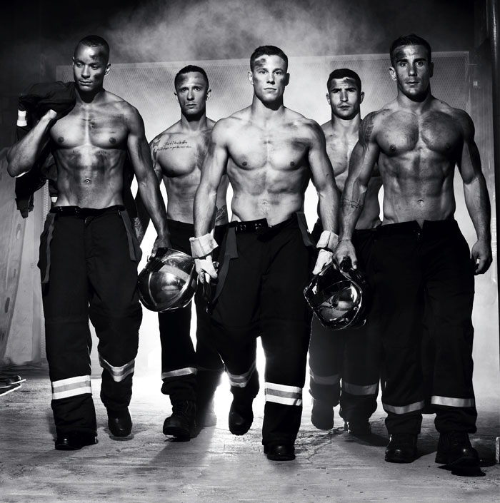 French Firefighters Release Charity Calendar 2016, Fire Risk Rises Across France
