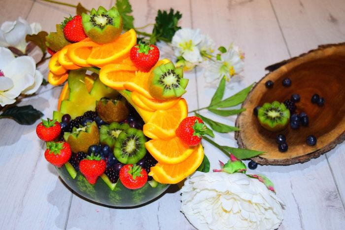 Fruit Basket Food Art