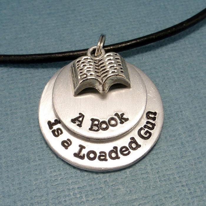 Fahrenheit 451 Necklace