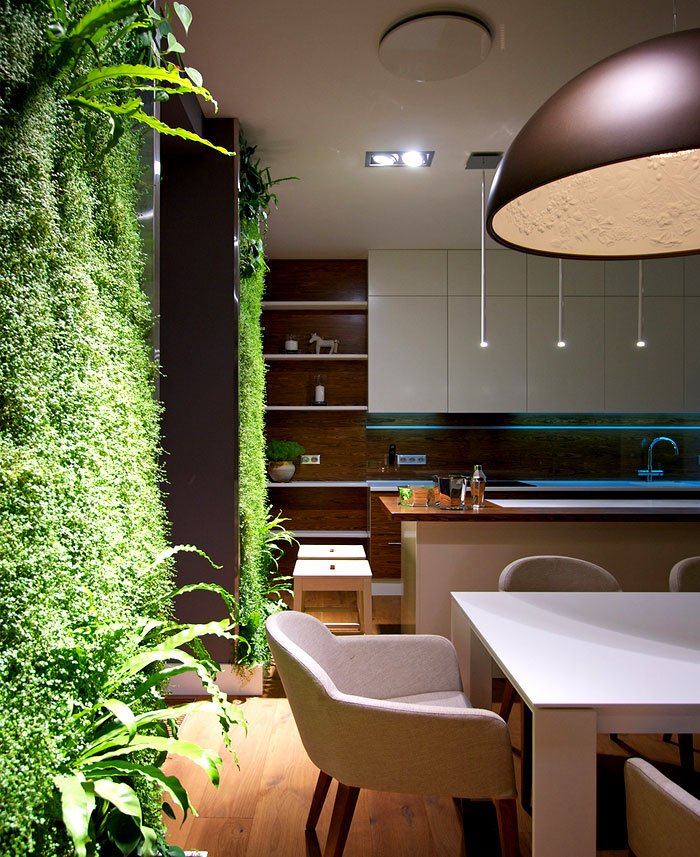 Kitchen Plants And Fresh Greenery