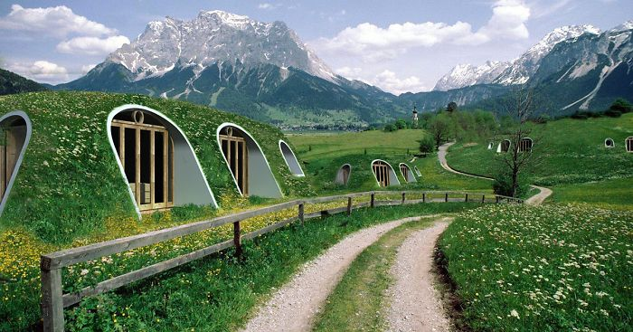 Company Builds Pre Fab Hobbit Houses In 3 Days And You Can