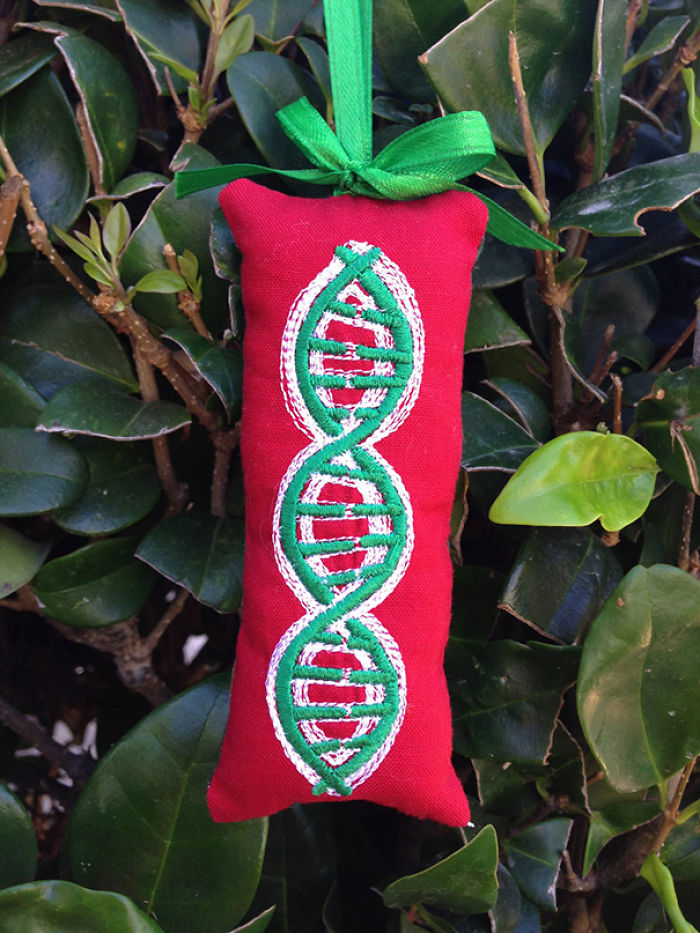 Dna Christmas Ornament