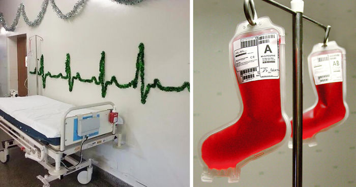 10 Hospital Christmas Decorations That Show Medical Staff