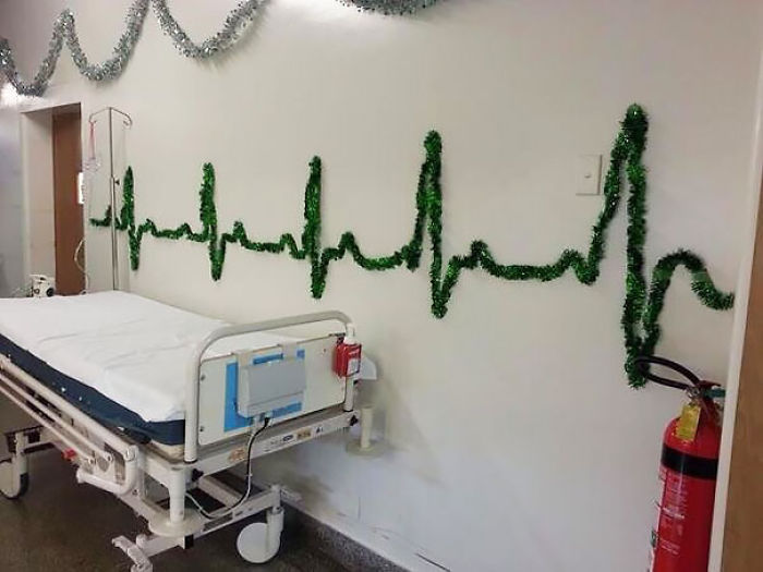 This Hospital Knows How To Be Festive
