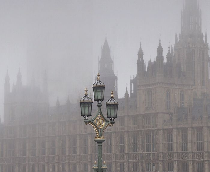 I Capture English Foggy Days