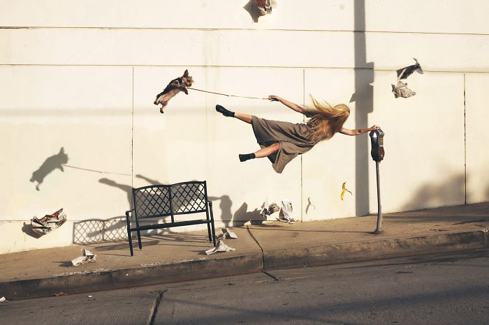 I Capture My Falling, Tripping And Levitating Friends