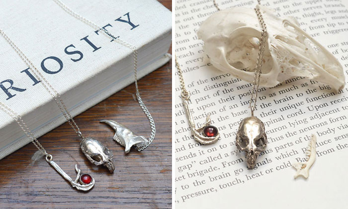 I Immortalize Skulls And Nature In Solid Silver Jewelry (Part 2)