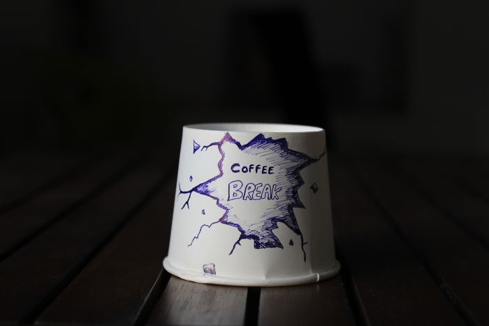 I Doodled On 100 Coffee Cups…one Cup A Day!!