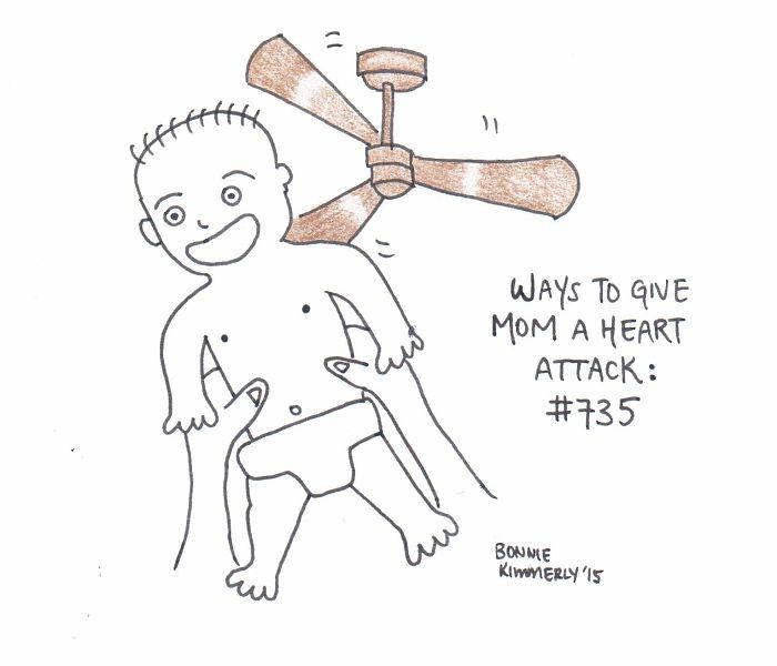 I Draw Funny Cartoons Depicting Life As A New Parent