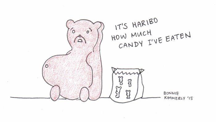 I Draw Punny Food Cartoons