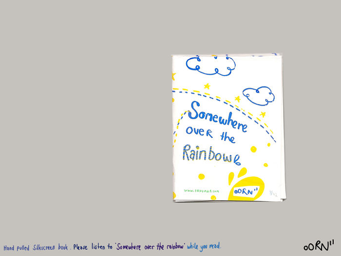 I Listen To Somewhere Over The Rainbow Song And Turn It Into A Book!