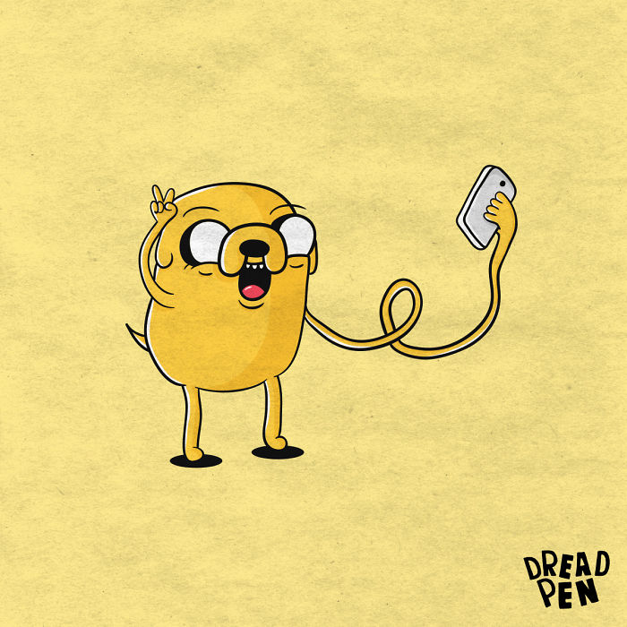 I Made Adventure Time Characters Take Selfies