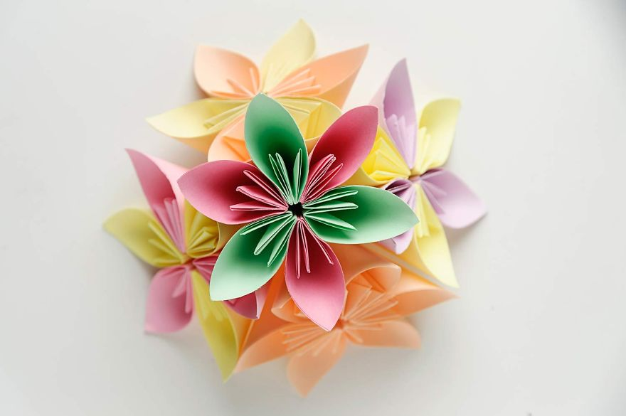 I Made Origami Christmas Decorations Out Of Paper  Bore ~ 063257_Christmas Decoration Ideas Made Out Of Paper