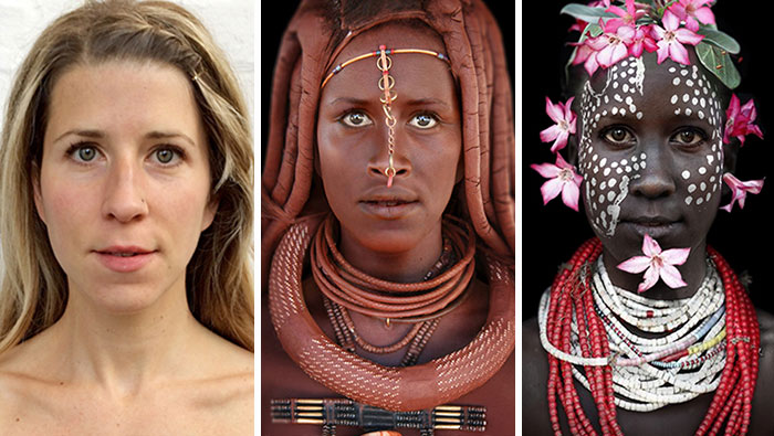 I Morphed Myself Into Tribal Women To Raise Awareness Of Their Secluded Cultures