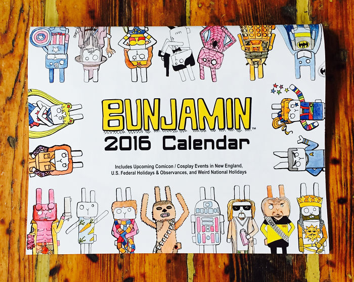 I Never Wanted To Miss Another Comicon, So I Made This Calendar!