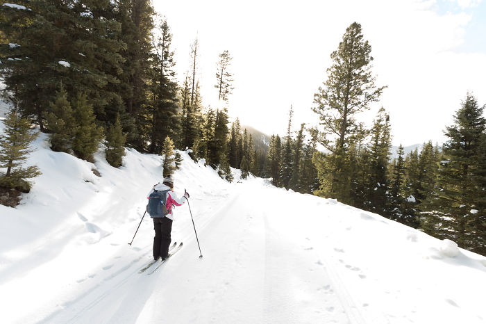 I Skied To A Remote Cabin In The Backcountry Of Montana
