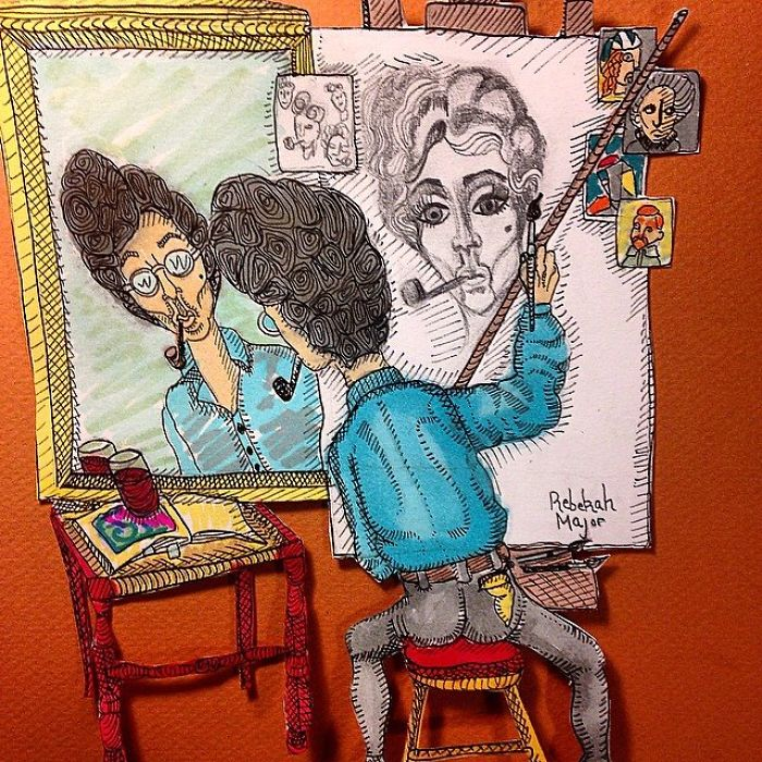 Illustrator Draws The Musician Prince Everyday For An Entire Year