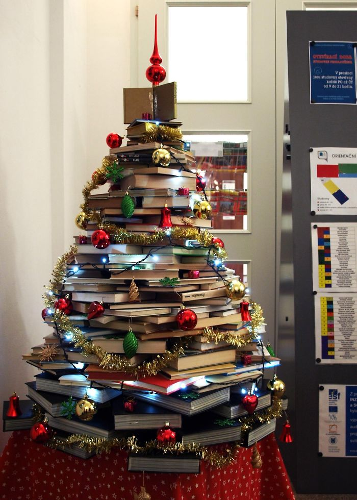 Library Tree At The Faculty Of Social Studies In Brno