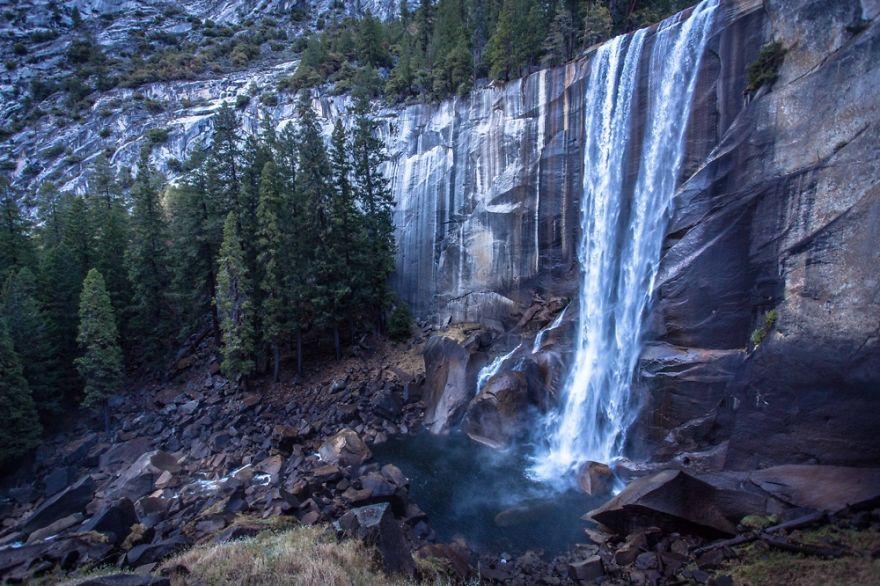Vernal Falls ~ Yosemite, California. Gavin Estes