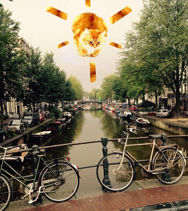 Sun In Amsterdam!