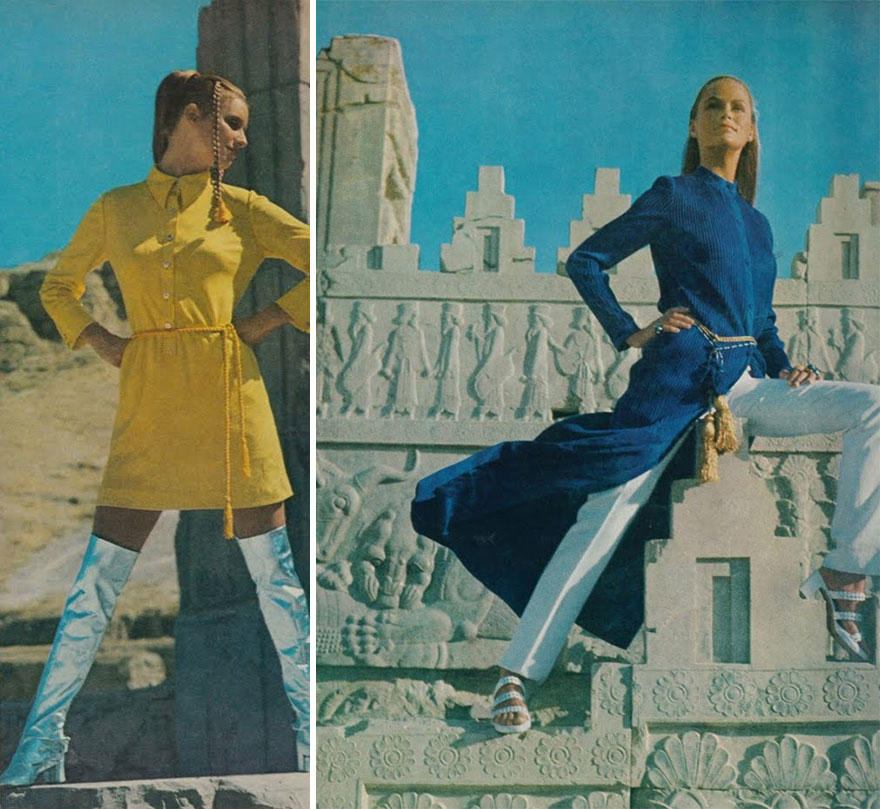هكذا كانت ترتدي المرأة الإيرانية في السبعينات / iranian-women-fashion-1970-before-islamic-revolution-iran-45 - This Is How Iranian Women Dressed in the 1970s  - MPC Journal - Mashreq Politics and Culture Journal