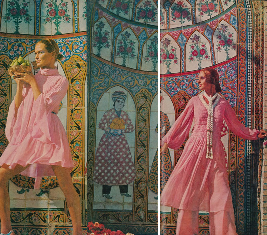 How Iranian Women Dressed In The 1970s Revealed In Old Magazines Bored Panda