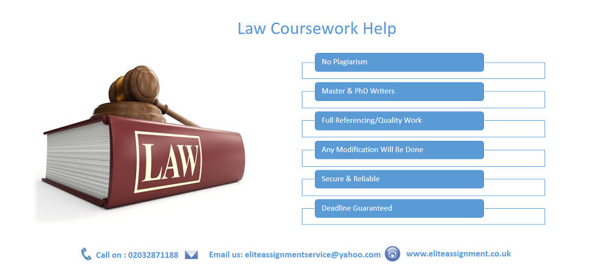 Law coursework help