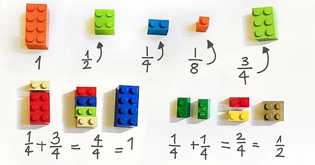 Teacher Uses LEGOs To Explain Math To Schoolchildren
