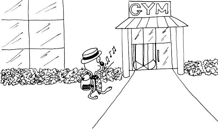 Lucky's Lucky Day – Epic Gym Fail