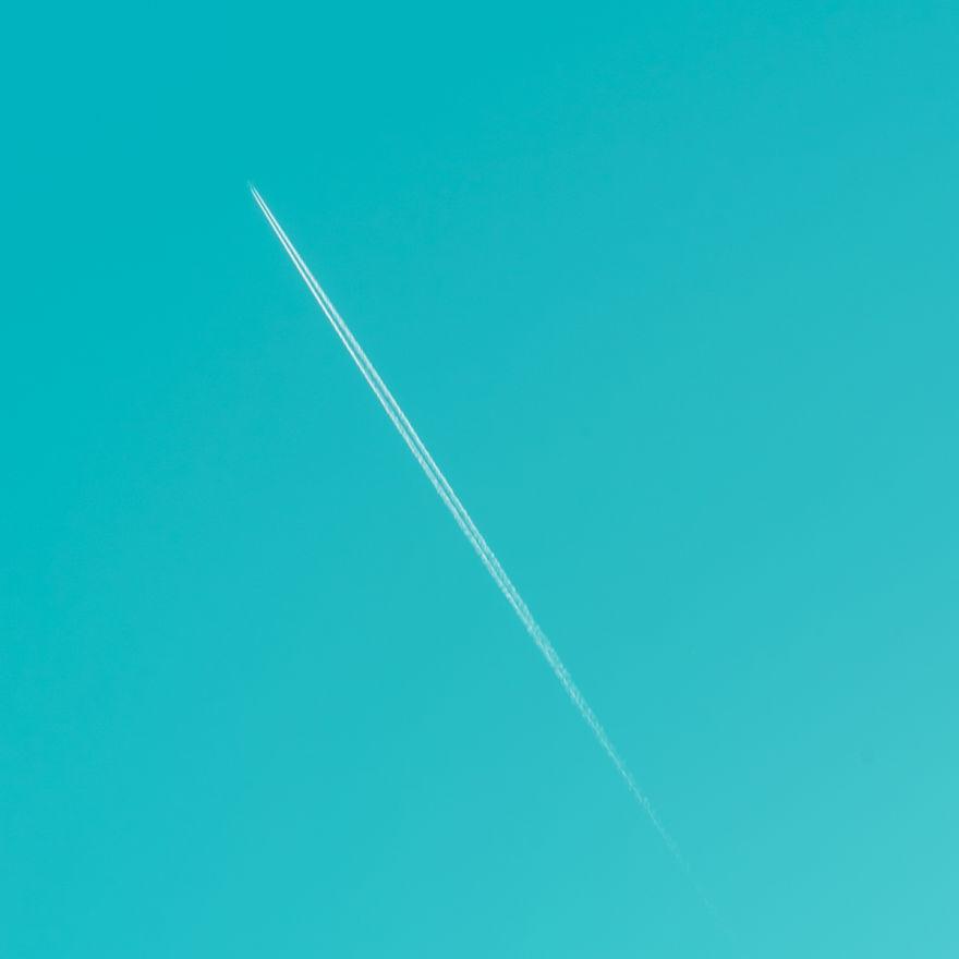 Malaga Sky: Minimalistic Photo Walk Around My City