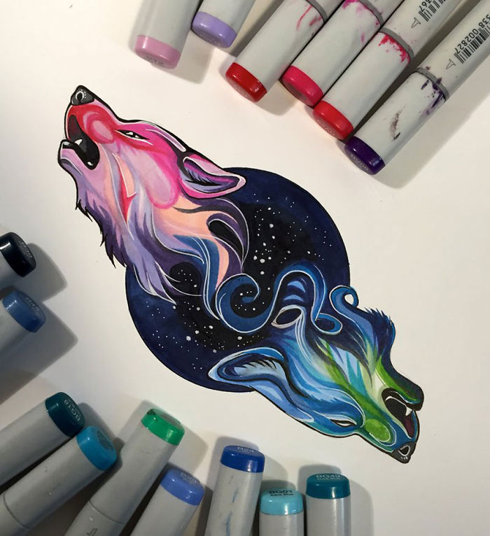 Marker Drawing | Bored Panda