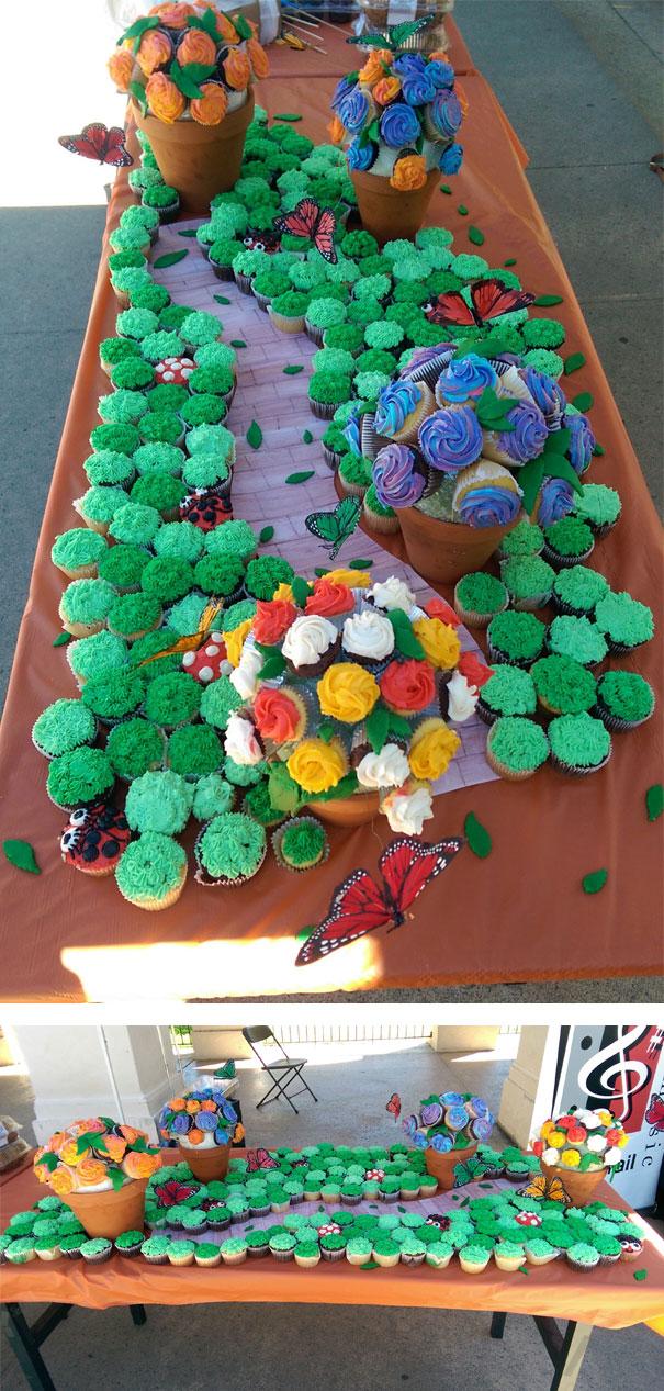 Cupcakes Garden