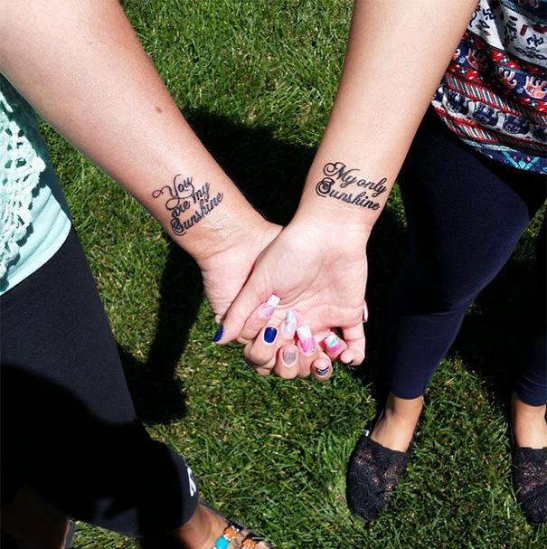 Mother-Daughter Tattoos