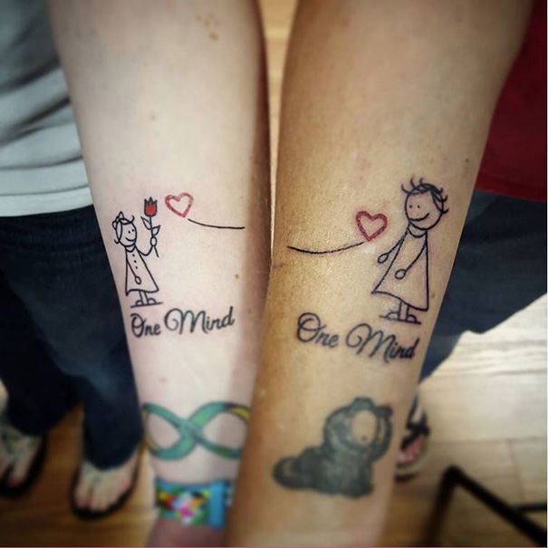15 Mother Daughter Tattoos That Show Their Unbreakable Bond Bored