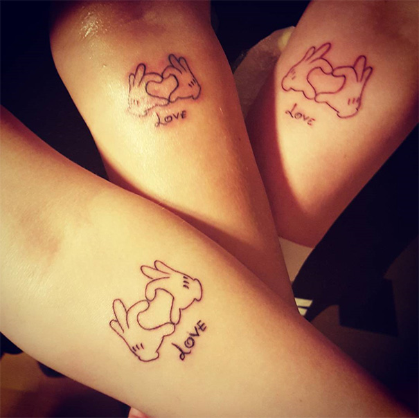Mother-Daughters Tattoos