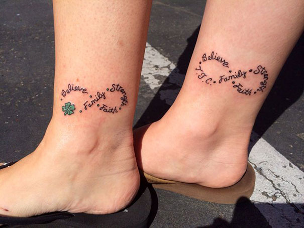 66 Mother Daughter Tattoos That Show Their Unbreakable Bond Bored