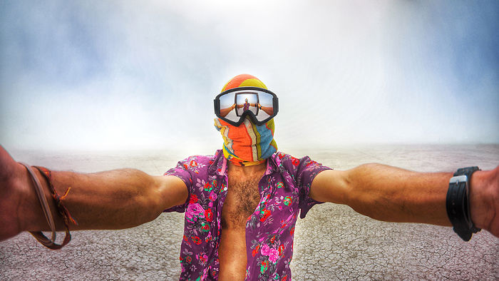 My Surreal Photos From Burning Man 2015