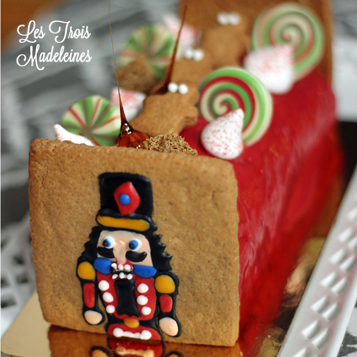 Nutcracker Christmas Cake