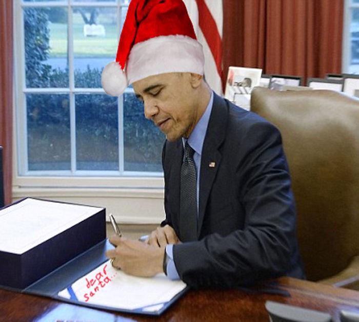 Obama's Christmas List
