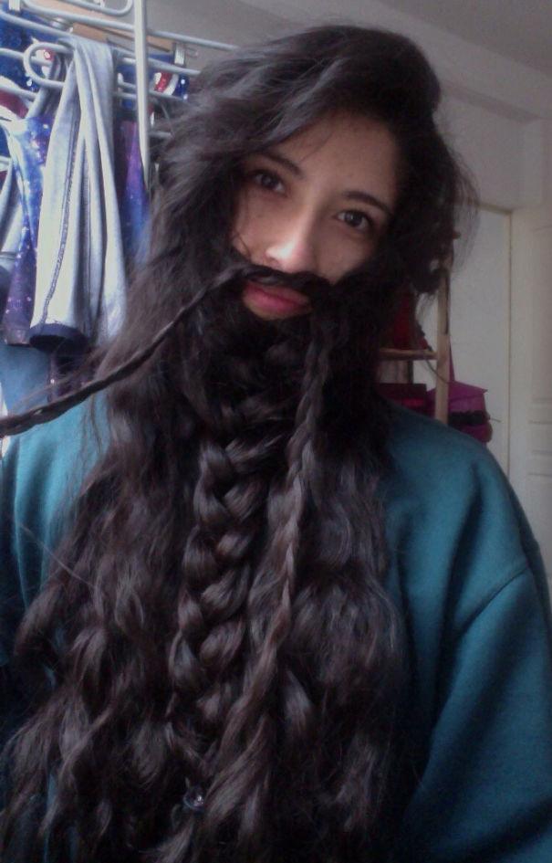 I Actually Wish I Had A Beard...