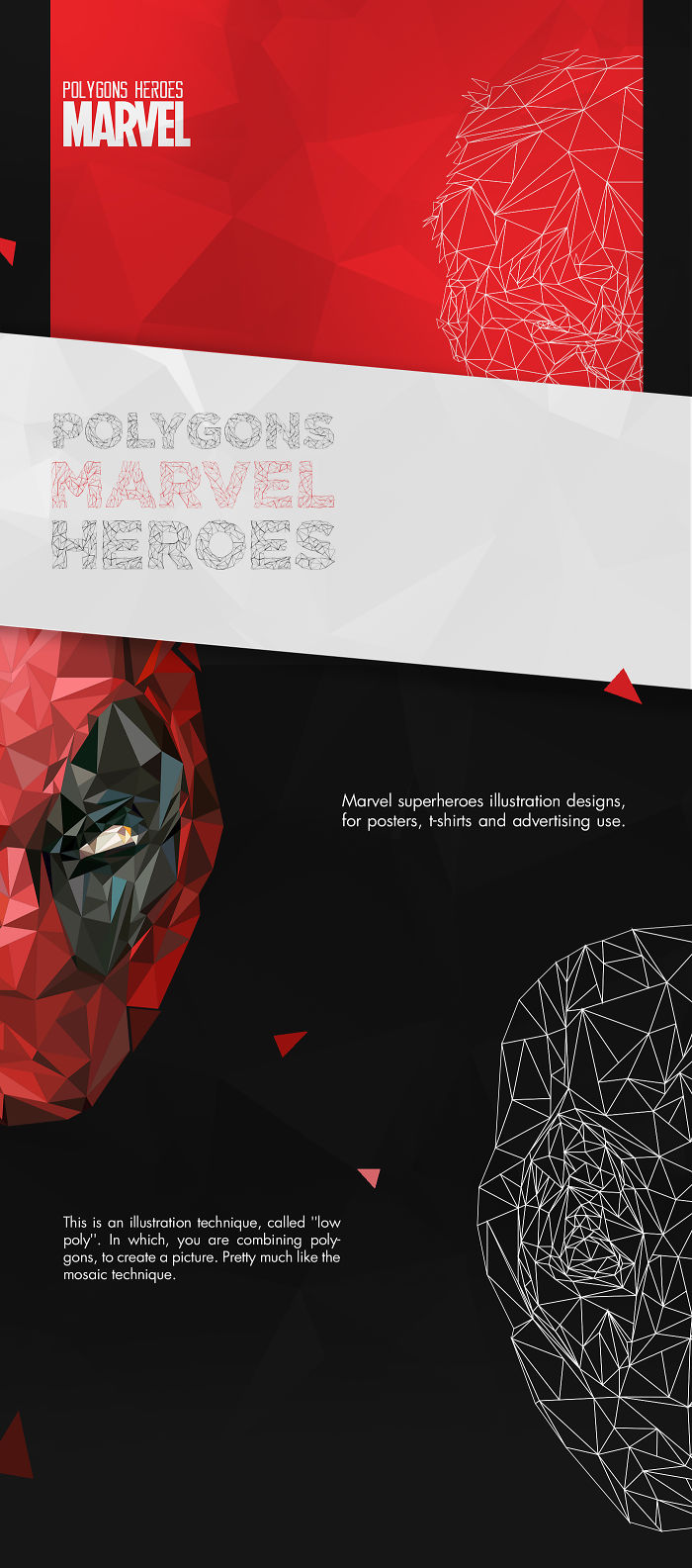 Polygons | Marvel Heroes