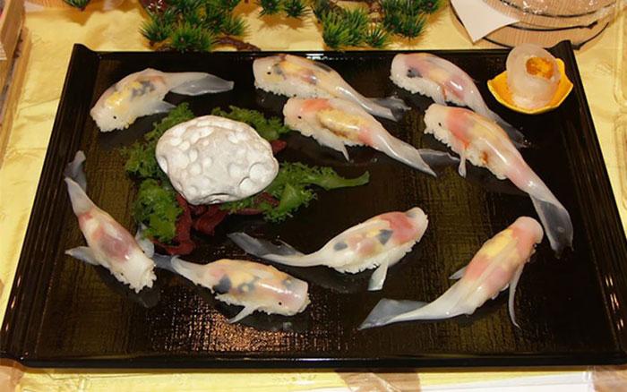 sushi beautiful fish food -#main