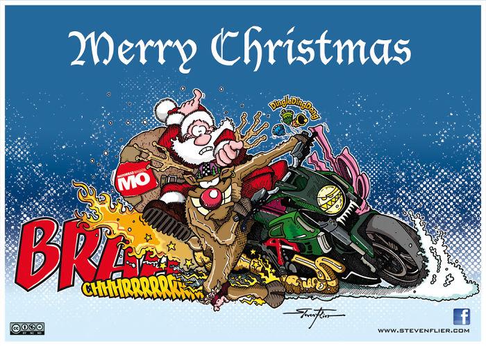 Knee Sliding Christmas