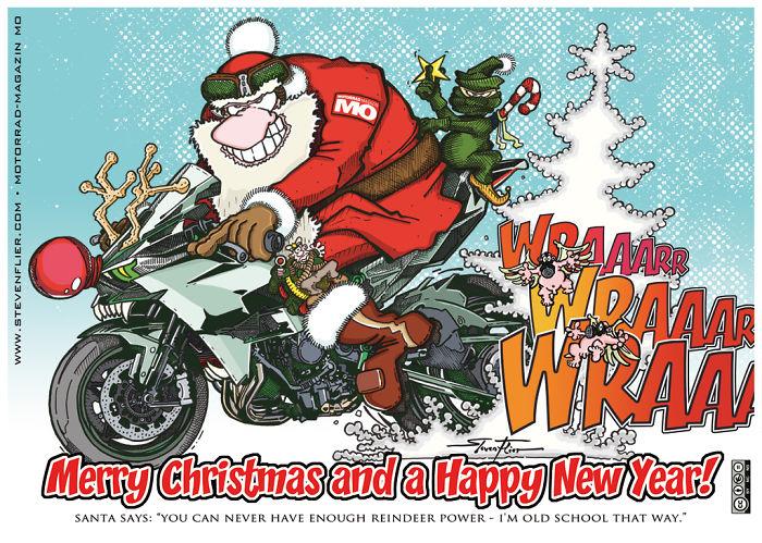 Ninja Elv & Santa Claus
