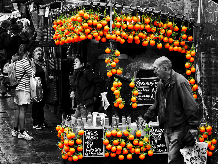 My Street Photography In Selective Color